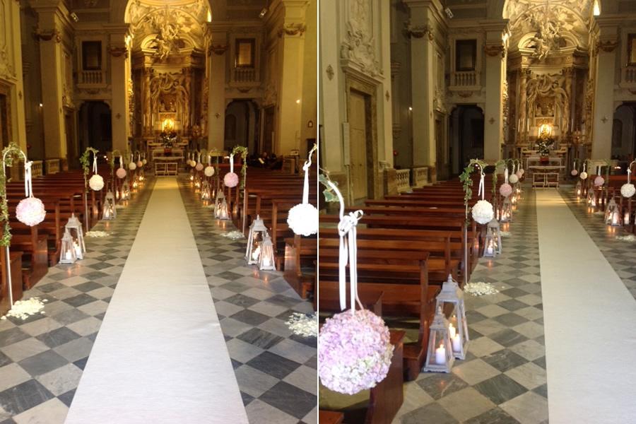 Molto Vogliadiverde addobbo-floreale-chiesa-matrimonio, boutique di  YD27